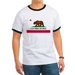California Flag Ringer T