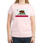 California Flag Women's Light T-Shirt