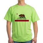 California Flag Green T-Shirt