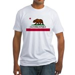 California Flag Fitted T-Shirt