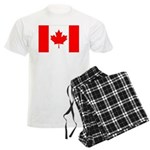 Canada Flag Men's Light Pajamas