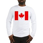 Canada Flag Long Sleeve T-Shirt