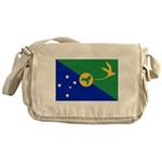 Christmas Island Flag Messenger Bag