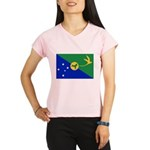 Christmas Island Flag Performance Dry T-Shirt