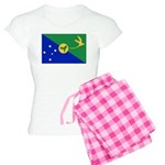 Christmas Island Flag Women's Light Pajamas