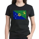 Christmas Island Flag Women's Dark T-Shirt