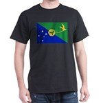 Christmas Island Flag Dark T-Shirt