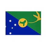 Christmas Island Flag Rectangle Magnet (100 pack)