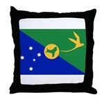 Christmas Island Flag Throw Pillow