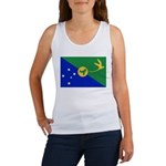 Christmas Island Flag Women's Tank Top