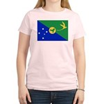 Christmas Island Flag Women's Light T-Shirt