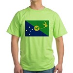 Christmas Island Flag Green T-Shirt