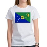 Christmas Island Flag Women's T-Shirt