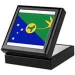 Christmas Island Flag Keepsake Box