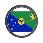 Christmas Island Flag Wall Clock