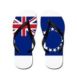 Cook Islands Flag Flip Flops