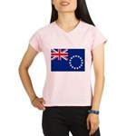 Cook Islands Flag Performance Dry T-Shirt