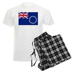 Cook Islands Flag Men's Light Pajamas