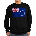 Cook Islands Flag Sweatshirt (dark)