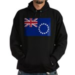 Cook Islands Flag Hoodie (dark)
