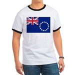 Cook Islands Flag Ringer T