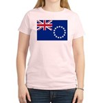 Cook Islands Flag Women's Light T-Shirt