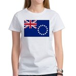 Cook Islands Flag Women's T-Shirt