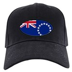 Cook Islands Flag Black Cap