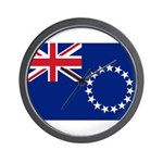 Cook Islands Flag Wall Clock