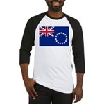 Cook Islands Flag Baseball Jersey