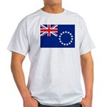 Cook Islands Flag Light T-Shirt