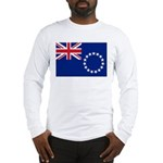 Cook Islands Flag Long Sleeve T-Shirt