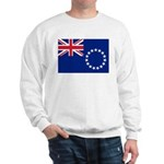 Cook Islands Flag Sweatshirt