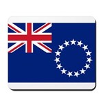 Cook Islands Flag Mousepad