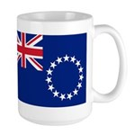 Cook Islands Flag Large Mug