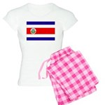 Costa Rica Flag Women's Light Pajamas