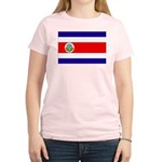Costa Rica Flag Women's Light T-Shirt