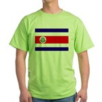 Costa Rica Flag Green T-Shirt