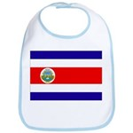 Costa Rica Flag Bib