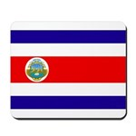 Costa Rica Flag Mousepad