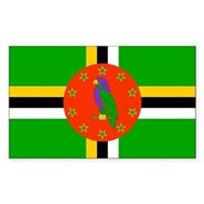 Dominica Flag Decal