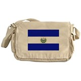 El Salvador Flag Messenger Bag
