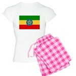 Ethiopia Flag Women's Light Pajamas