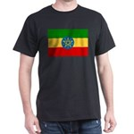 Ethiopia Flag Dark T-Shirt