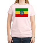 Ethiopia Flag Women's Light T-Shirt