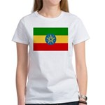 Ethiopia Flag Women's T-Shirt