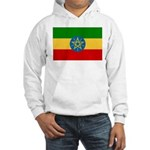 Ethiopia Flag Hooded Sweatshirt