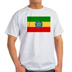 Ethiopia Flag Light T-Shirt