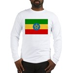 Ethiopia Flag Long Sleeve T-Shirt
