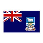 Falkland Islands Flag 38.5 x 24.5 Wall Peel